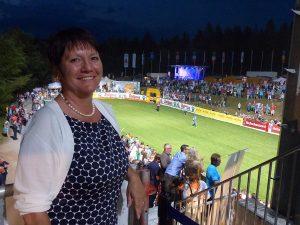 Ehrengast - die neu gewählte LSV Präsidentin, Elvira Menzer-Haasis