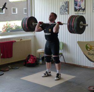 Olympia Vorbereitung auf dem LZ Herzogenhorn_Gewichtheber Jürgen Spiess