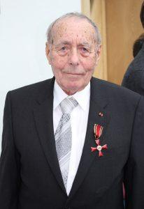 Rolf Luxemburger wurde mit dem Bundesverdienstkreuz geehrt